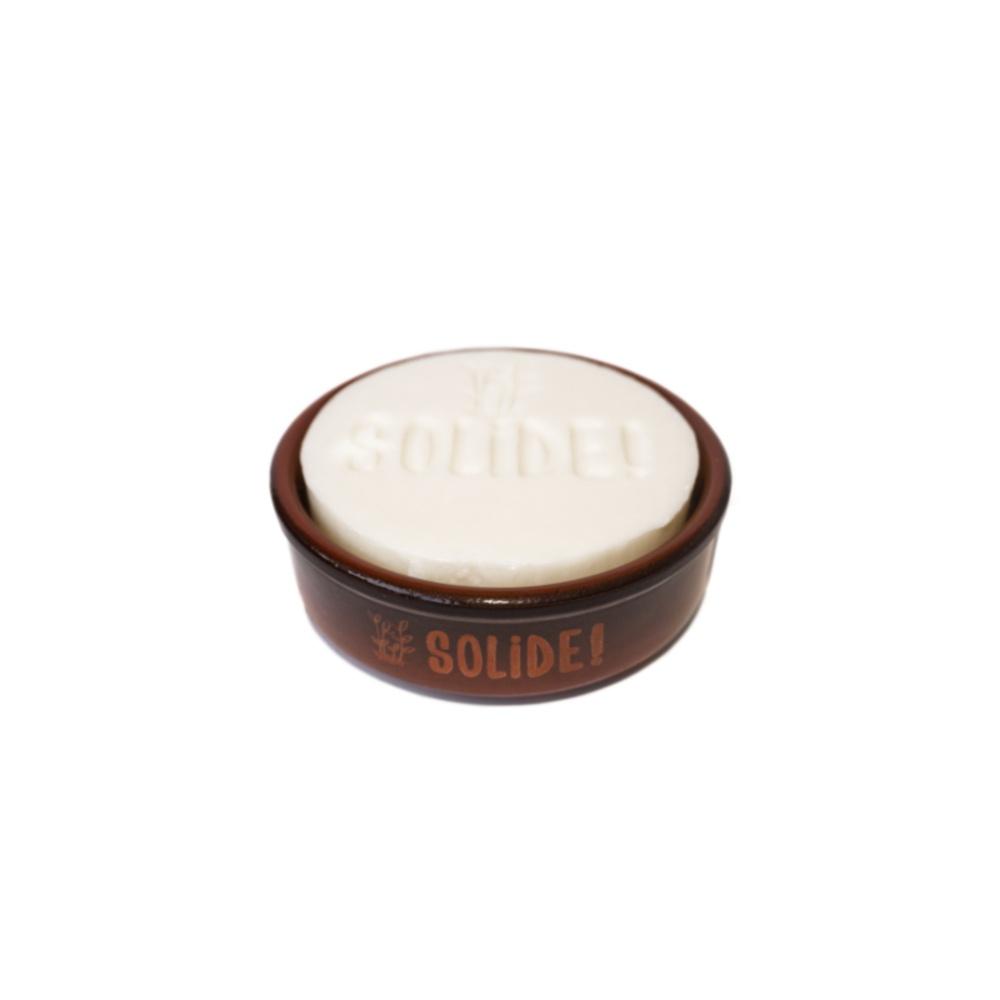 Solide Vaisselle 100g + support en céramique