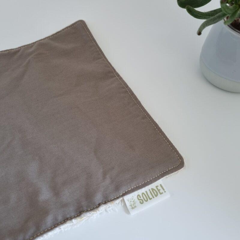 Essuie-tout lavable et réutilisable en coton bio
