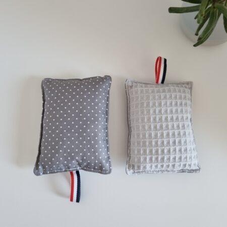 Eponge lavable zéro déchet en tissu recyclé - motifs variés